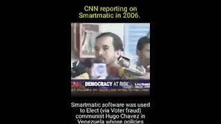 CNN Reported on Smartmatic Machines in 2006!