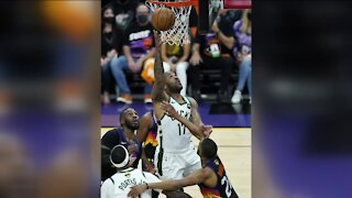 Bucks fall to Suns in Game 1 of the NBA Finals