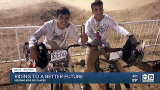 Helping Kids Go Places: Youth on Track Cycling
