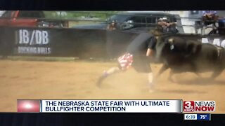 The Nebraska State Fair with ultimate bullfighter competition
