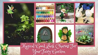 Teelie's Fairy Garden   Magical Good Luck Charms For Your Fairy Garden   Teelie Turner