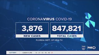 Covid cases surge in the US and Florida