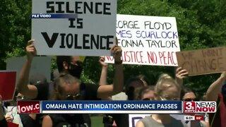 Omaha Hate Intimidation Ordinance Passes
