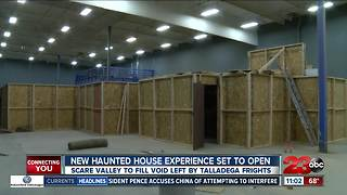 New haunted house experience in Bakersfield