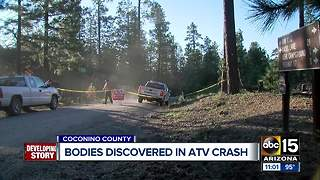 Bodies discovered after ATV crash near Payson