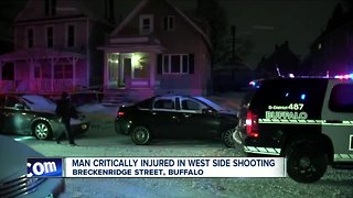 Man shot multiple times on Buffalo's west side