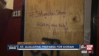 St. Augustine prepares for Dorian