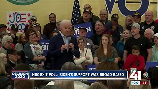Biden wins Missouri democratic primary