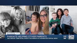 Parents helping other parents of children with special needs