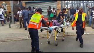 SOUTH AFRICA - Pretoria - Train collision (Videos) (BRT)