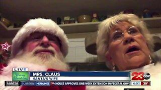 Santa Claus joins 23ABC this morning
