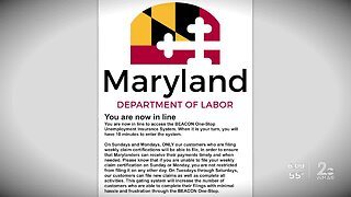 Maryland Department of Labor apologizes for flawed unemployment site