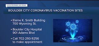 Boulder City coronavirus vaccination sites and ambitious vaccination plan