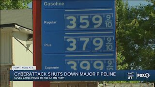 Gas futures ticking up after cyberattack shuts down pipeline