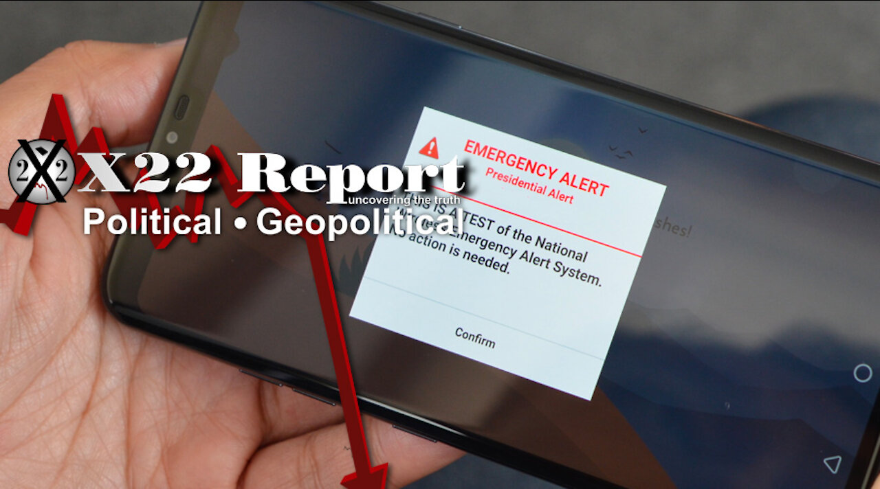Ep. 2551b – EAS, Countermeasures In Place, A State Of Temporary Military Control Will Be Actioned