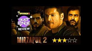 Mirzapur 2 Review   Pankaj Tripathi, Ali Fazal, Divyendu Sharmaa   Just Binge Review   SpotboyE