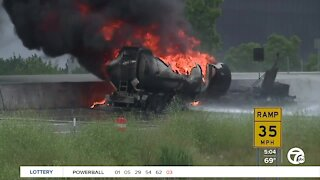 I-75 remains closed in Troy after massive fuel tanker fire