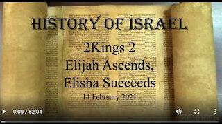 Elisha launches a successful prophetic career,