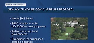 New White House COVID-19 relief proposal