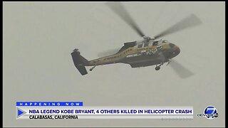SCENE: Kobe Bryant, 4 others killed in CA helicopter crash