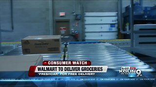 Walmart's online grocery delivery coming to Tucson