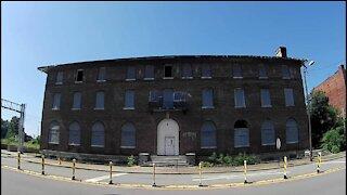 Abandoned Community Center East St Louis Illinois