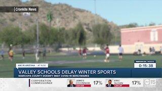 Valley schools delay winter sports amid COVID-19