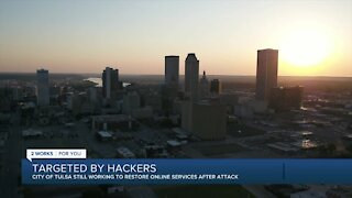 City of Tulsa working to restore online services after ransomware attack