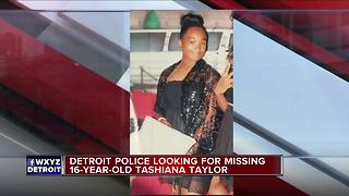 Police searching for missing 16-year-old Detroit girl
