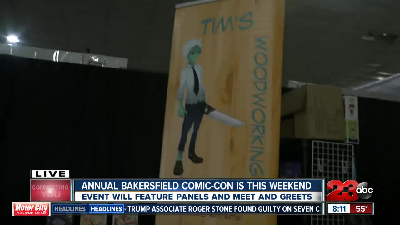 12th annual Bakersfield Comic-Con hits the Kern County Fair Grounds