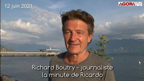Interview exclusive de Richard Boutry en Suisse
