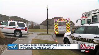 Papillion woman dead after getting stuck in home elevator