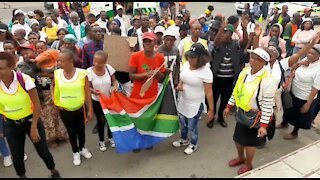 SOUTH AFRICA - Pretoria - Mawiga Service Delivery Protest (Nmb)
