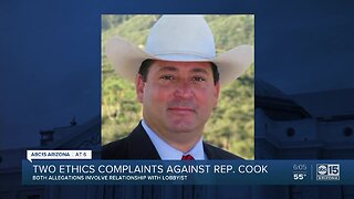 Two ethics complaints released against Representative Cook