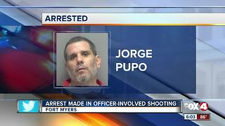 Arrest made in officer involved shooting