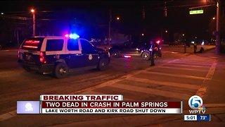 2 killed after violent crash near Palm Springs