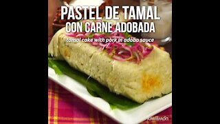 Tamale Pie with Marinated Meat