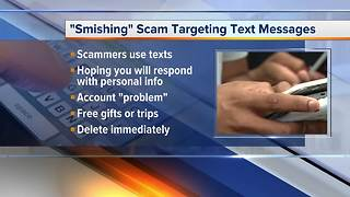 New warning issued over text message scam called 'smishing'