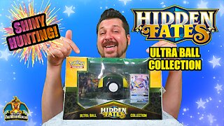 Hidden Fates Ultra Ball Collection #2 | Shiny Hunting | Pokemon Cards Opening