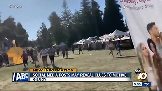 Social media posts may reveal Gilroy shooter's motive