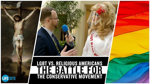 LGBT and religious Americans battle for soul of conservative movement at CPAC 2021