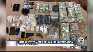 Suspected Palm Beach County drug dealer arrested