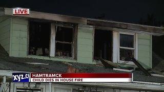 2-year-old boy dies in house fire in Hamtramck