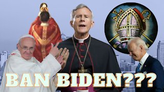 Bishop Strickland on the Synod on Synods , Communion to Biden, & Latin Mass Ban