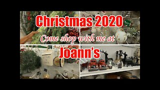 🎅 CHRISTMAS SHOP WITH ME 2020 AT JOANN'S   ULTIMATE CHRISTMAS 🎄 TREE & AFFORDABLE FARMHOUSE DECOR