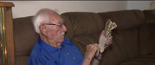 Former prisoner of war, WWII veteran shares how to survive tough times