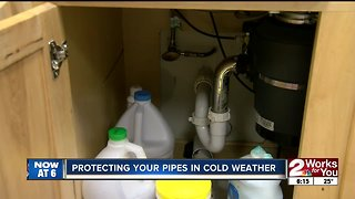Bitter cold means threats to water pipes