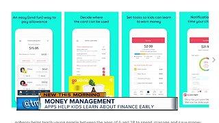 Apps help kids learn about finance early