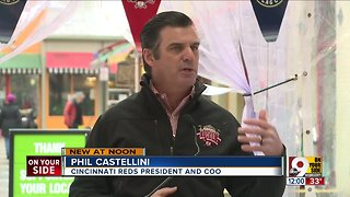 Details announced for Reds Opening Day Parade