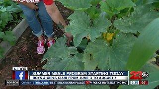 Summer Meals Program at Boys & Girls Club Kern County